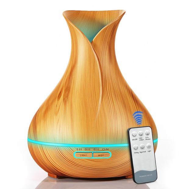 JAP AD17 - Aroma diffuser - Luchtverfrisser - Met afstandsbediening - Naturel