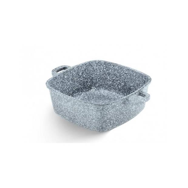 Edënbërg Stonetec Line - Luxe Aluminium Kookpan met Deksel - Ø 20 cm