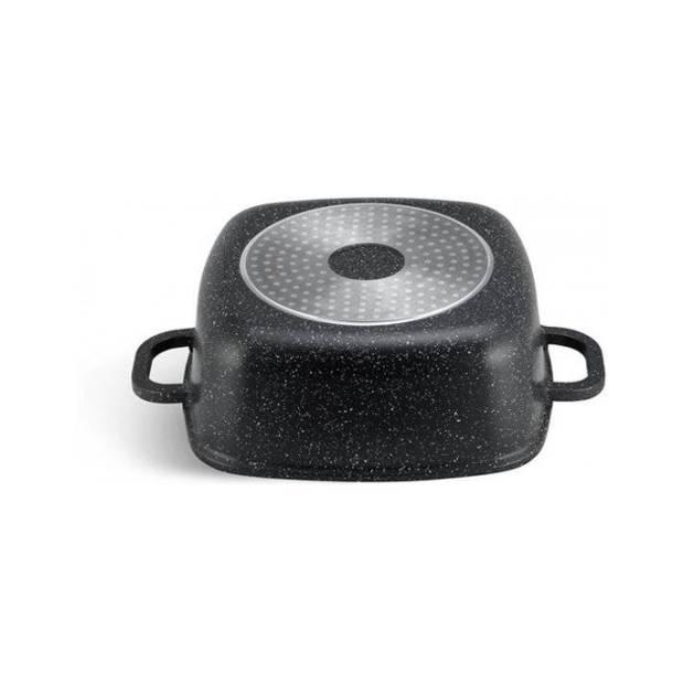 Edënbërg Stonetec Line - Luxe Aluminium Kookpan met Deksel - Ø 24 cm