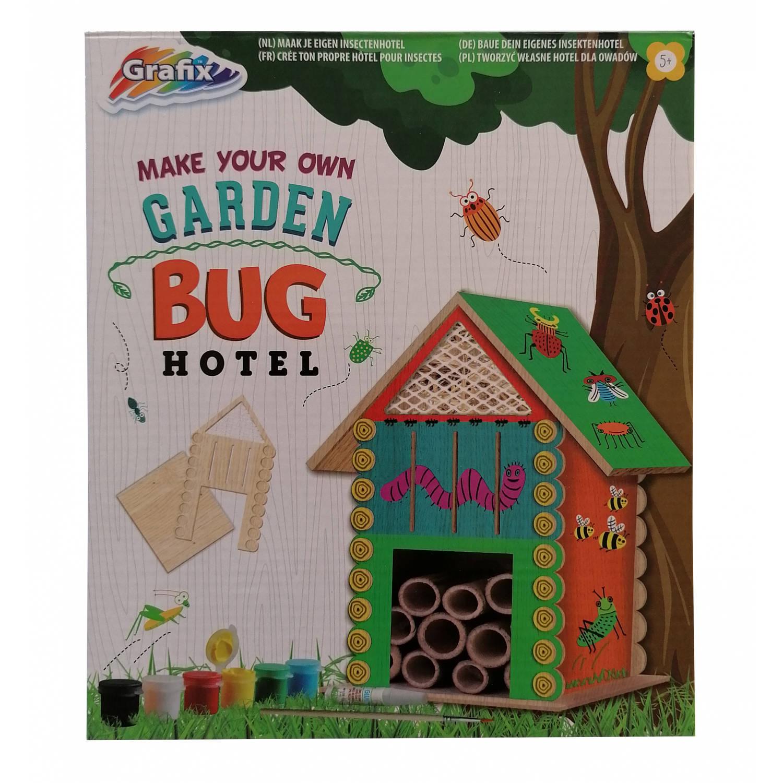 Grafix maak je eigen insectenhotel junior hout 26 delig online kopen