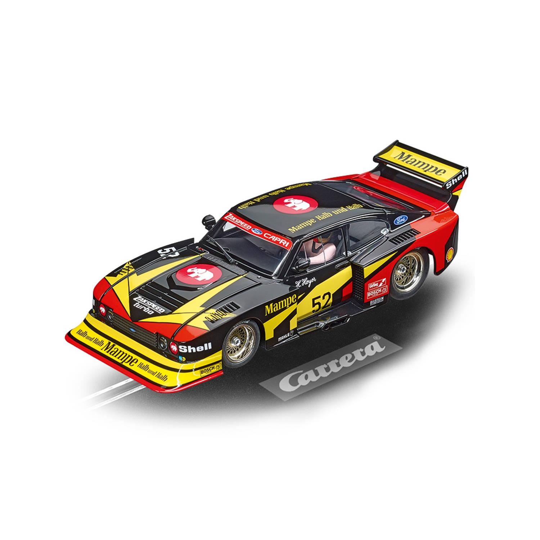 Carrera 20023895 DIGITAL 124 Ford Capri Zakspeed Turbo Mampe Ford Zakspeed Team, No. 52