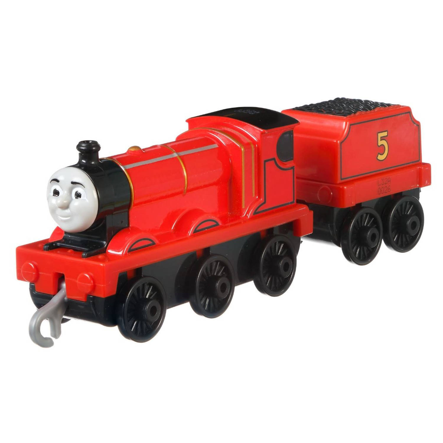 Fisher-price Trein Thomas & Friends James Junior 14 Cm Staal Rood