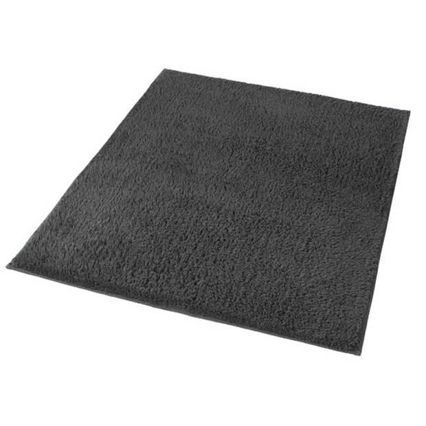Kleine Wolke Badmat Kansas 55x65 cm antracietgrijs