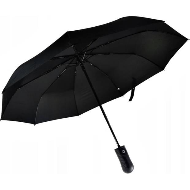 Luxe Stormparaplu – Opvouwbaar en Windproof - Zwart