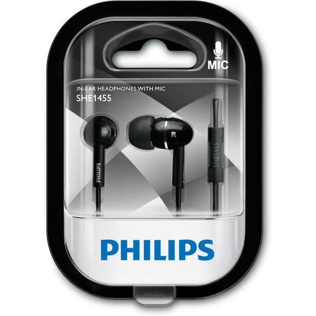 Philips SHE1455BK/10 headphones/headset Hoofdtelefoons In-ear Zwart