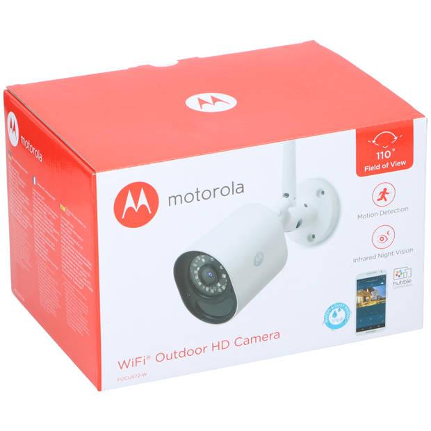 Motorola Focus72 Outdoor IP-camera - IP66 - bewegingsdetectie - infrarood nachtzicht - 110° kijkhoek