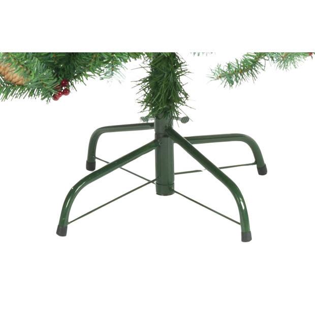Christmas Gifts Kerstboom met Sneeuw en Dennenappels - 708 Toppen - 180 cm