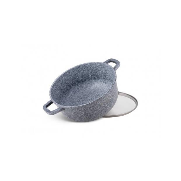 Edënbërg Stonetec Line - Luxe Aluminium Kookpan met Deksel - Ø 26 cm