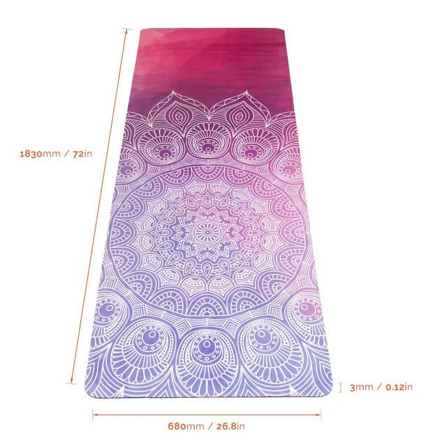 JAP Sports Antislip Yogamat- 1830 x 680 x 3 mm - Wisdom