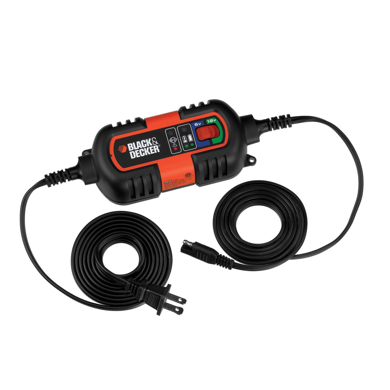 Black & Decker Black & Decker Erhaltungslader 6-12 V Automatische acculader 6 V, 12 V