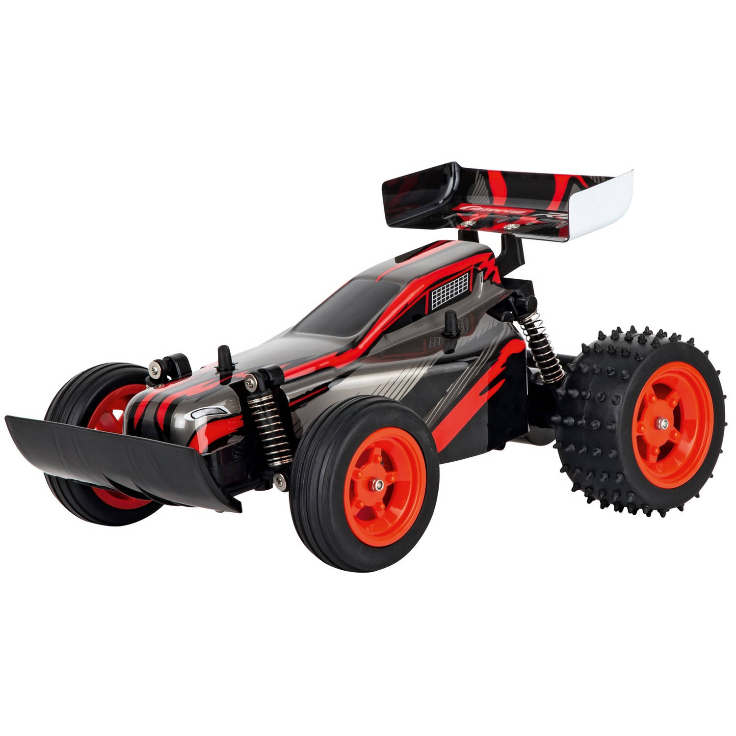 Carrera auto RC Race Buggy 2,4 GHz 1:16 zwart/rood 3 delig