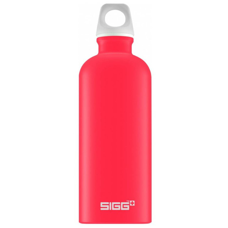 Sigg drinkfles Lucid 600 ml 7,1 cm aluminium rood