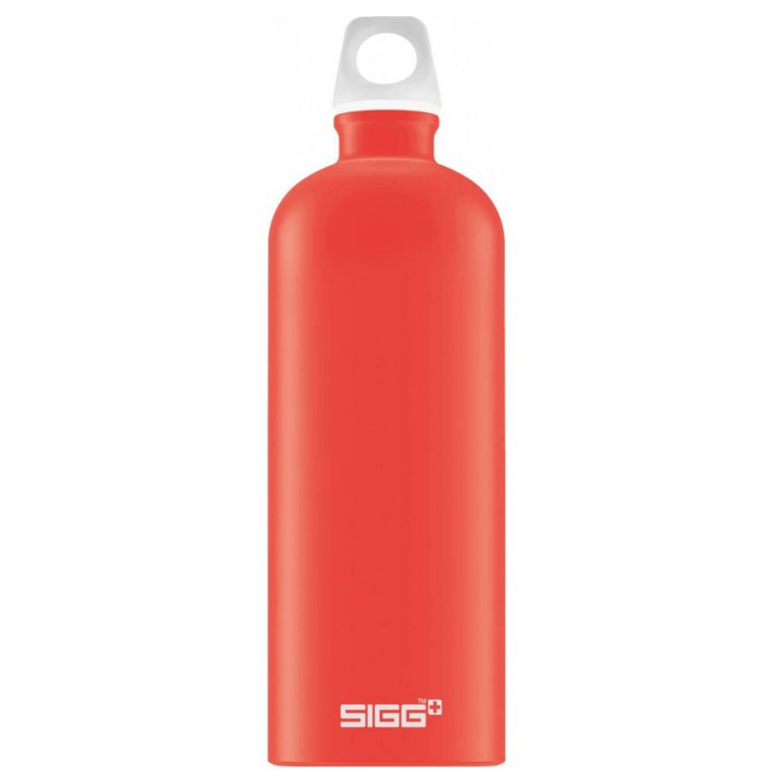Sigg drinkfles Lucid 1 L 8,1 cm aluminium rood
