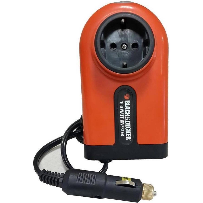 BLACK+DECKER Omvormer BDPC100A 12-230 Volt -100 Watt