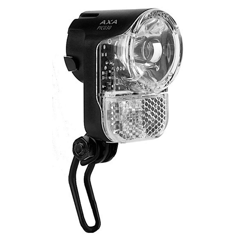 AXA koplamp Pico 30 lux naafdynamo-fietsaccu zwart