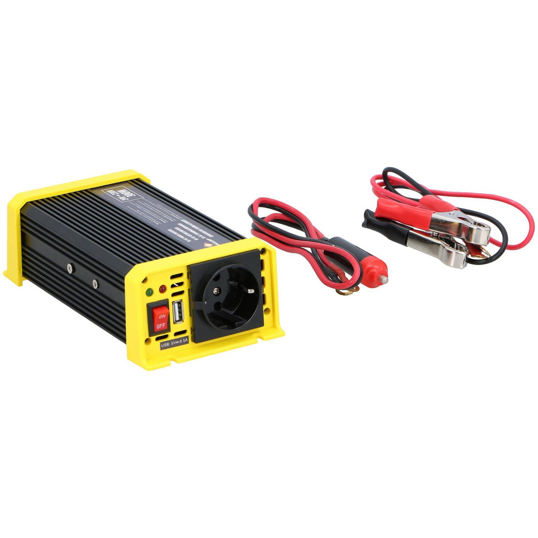 Stanley 24 Volt Omvormer 24 -230 Volt met Stopcontact en USB-Poort