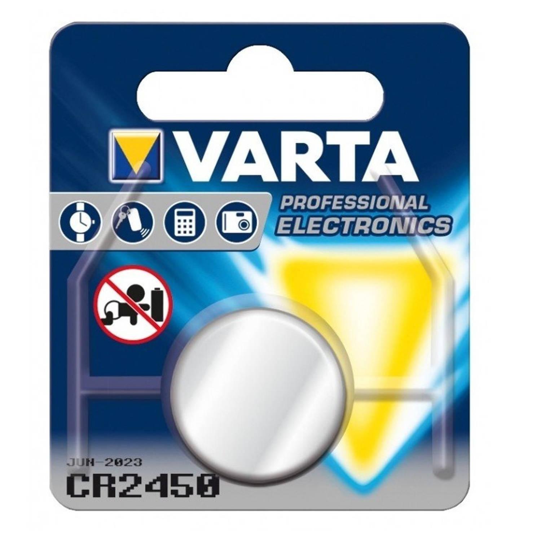 Korting Varta Knoopcelbatterij Cr2450 Lithium 3v Per Stuk
