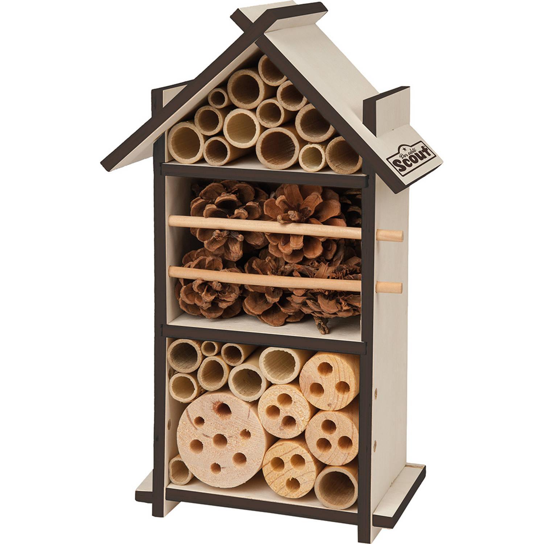 Happy People Insectenhotel Scout 16 X 28 Cm Hout Naturel/bruin online kopen