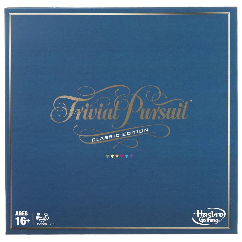 Hasbro Gaming Trivial Pursuit Classic 50,8 Cm Karton (Be) 5-delig