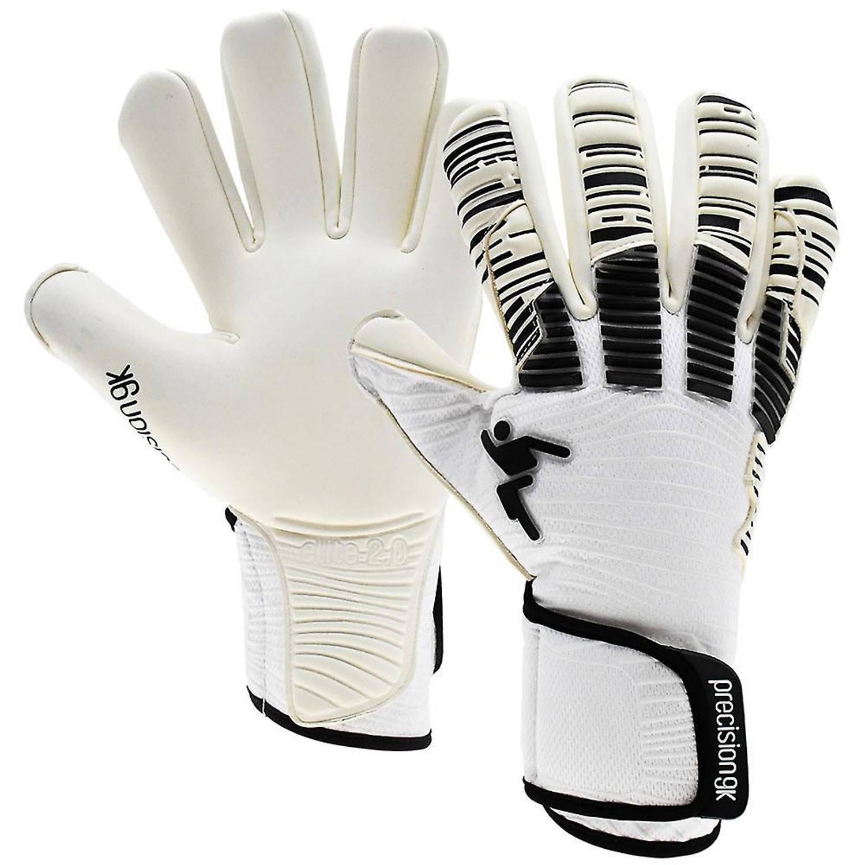 Merkloos Precision Keepershandschoenen Elite 2.0 Giga Wit/zwart Mt 8,5 online kopen
