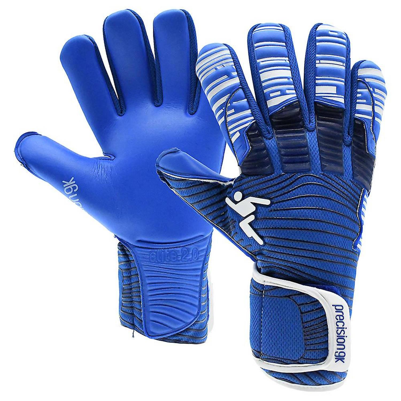 Merkloos Precision Keepershandschoenen Elite 2.0 Grip Junior Blauw Mt 5 online kopen
