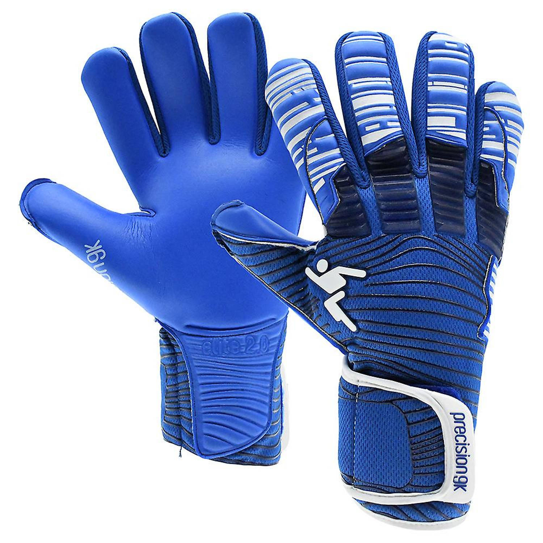 Merkloos Precision Keepershandschoenen Elite 2.0 Grip Blauw Maat 10,5 online kopen