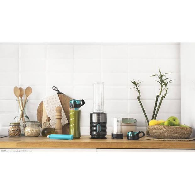 Cecotec Power Titanium Blender To Go - Vaatwasserbestendig - Zwart
