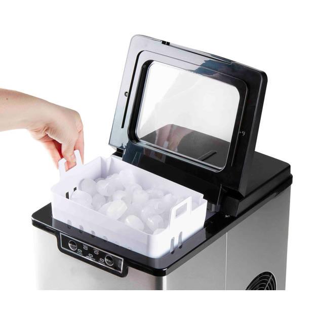 Primo PR403IB ijsblokjesmachine - RVS/zwart