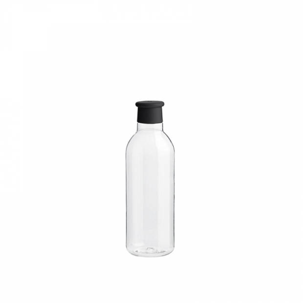 RIG-TIG Drink-it Waterfles 0,75 l zwart