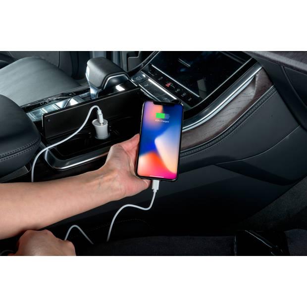 All Ride Oplaad- en Sync-Kabel Lightning - Apple - 2.1 A - 120 Cm - Wit