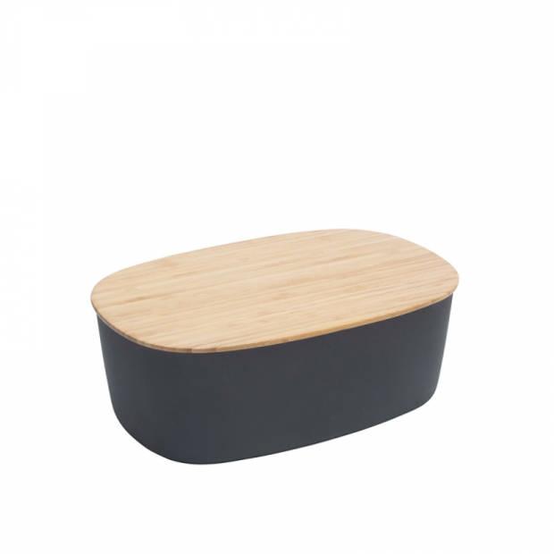 RIG-TIG Box-It Broodtrommel zwart