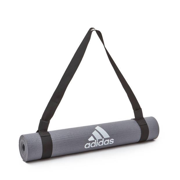 Adidas mat draagband zwart