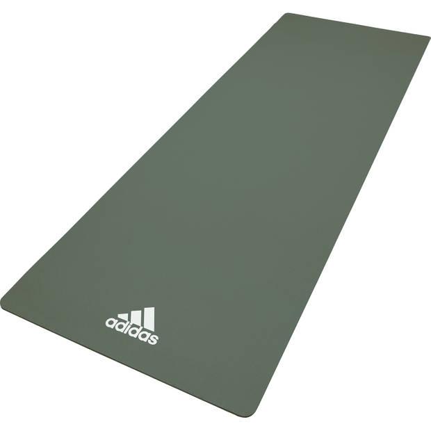 Adidas yoga mat 8mm raw green