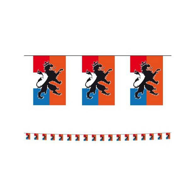 Set van 3x stuks holland oranje vlaggenlijnen met leeuw 10 meter - Feestartikelen/Fan artikelen