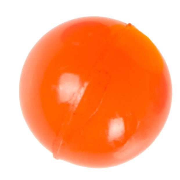 LG-Imports stuiterbal 25 mm rubber oranje