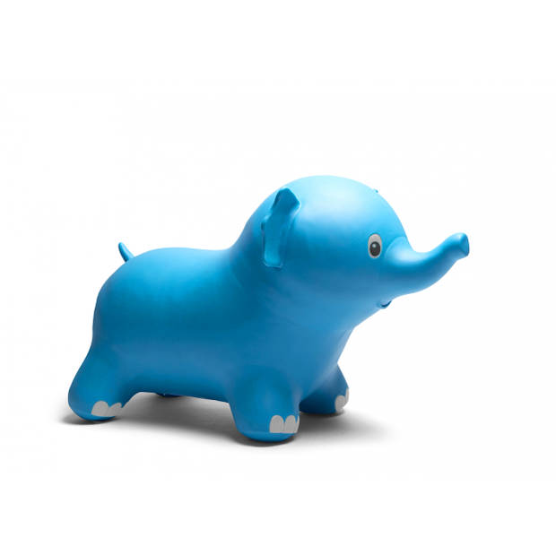 BS Toys skippyolifant 50 cm blauw
