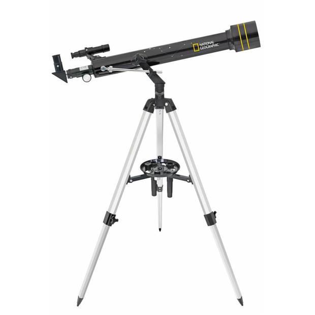 National Geographic refractortelescoop 60/700 35-525x staal zwart