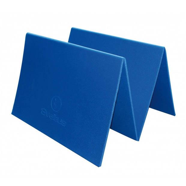 Sveltus fitnessmat blauw unisex 140 x 50 cm