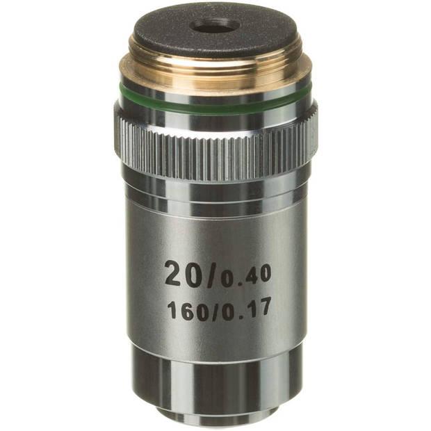 Bresser lens DIN-20x 32,2 cm aluminium zilver