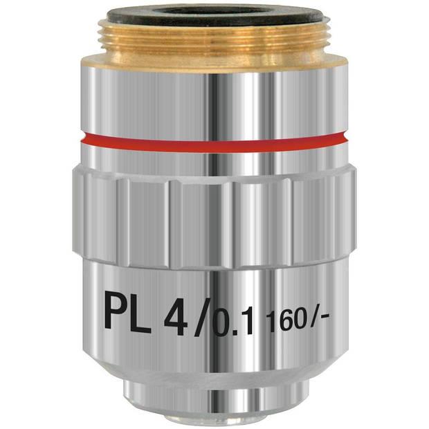 Bresser lens DIN-PL-4x 4,5 cm aluminium zilver