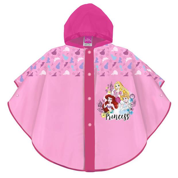 Perletti regenponcho Princess meisjes EVA roze 3-6 jaar