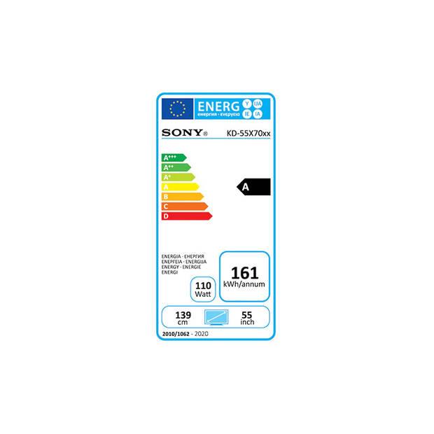 Sony KD-55X7055 - 4K HDR LED Smart TV (55 inch)