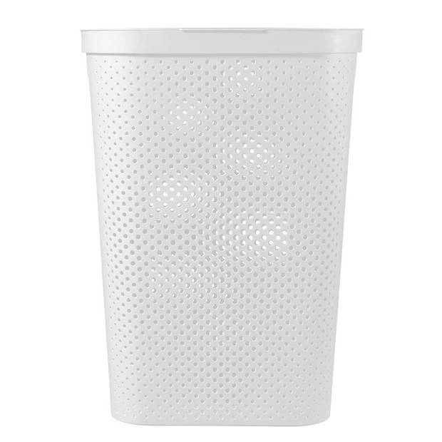 Curver Infinity Dots wasbox - 60L - wit