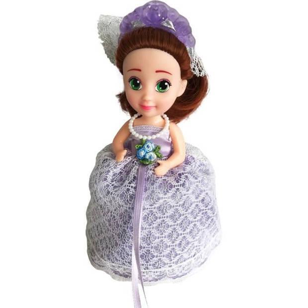 Verrassing Cupcake Bruiloft Donna Geurende Pop