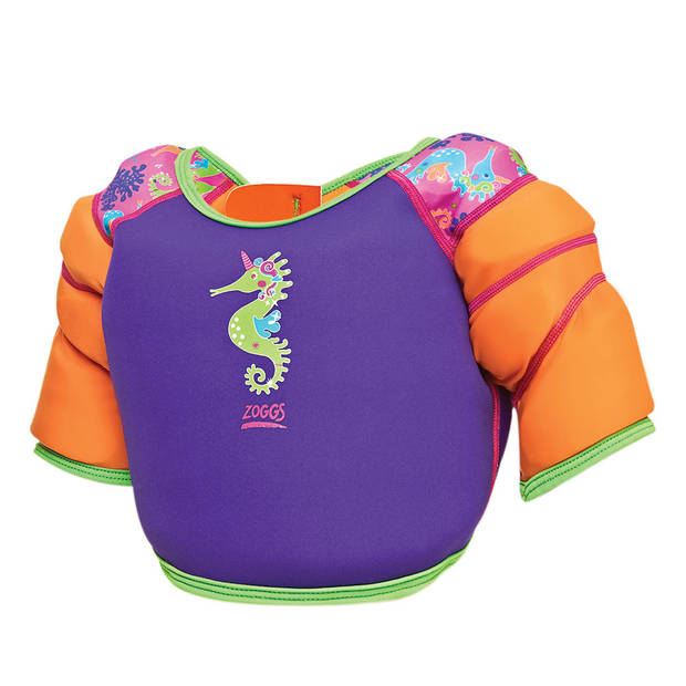 Zoggs zwemvest Purple meisjes neopreen/polyamide paars maat 92