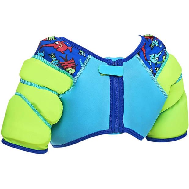 Zoggs zwemvest Deep Sea jongens neopreen/polyamide blauw maat 104
