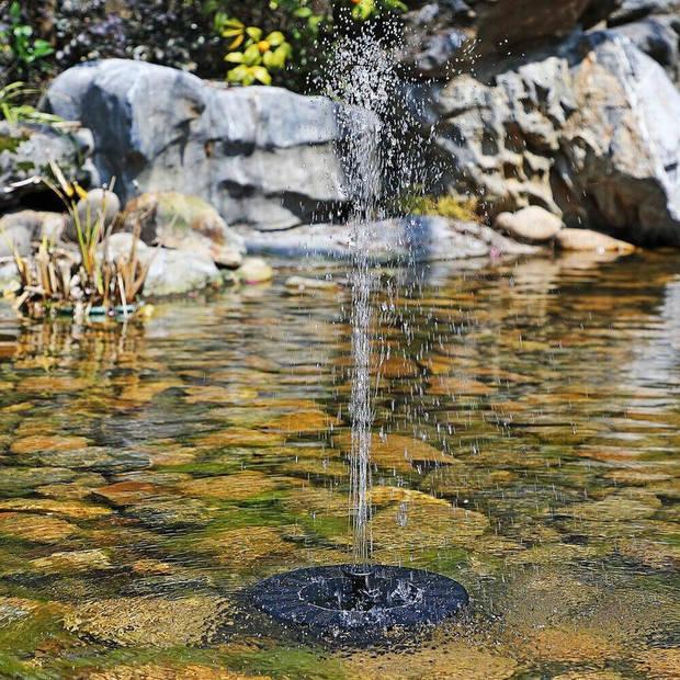 Parya Garden - Drijvende fontein pomp - geschikt voor in de vijver