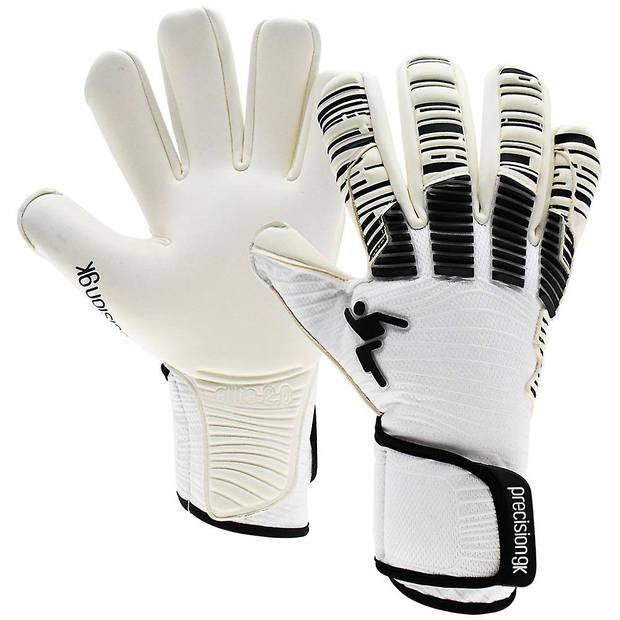 Precision keepershandschoenen Elite 2.0 Quartz jr zwart/wit