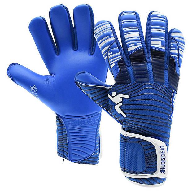Precision keepershandschoenen Elite 2.0 Grip jr blauw