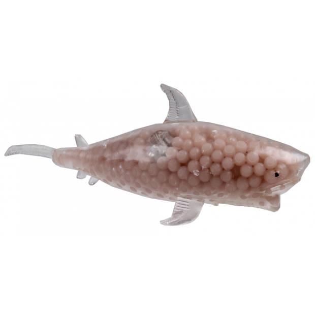 Van Manen speelfiguur haai junior 18 cm siliconen zalmroze